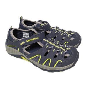 MERRELL Kids H2O Hiker Sandal Navy 1Y